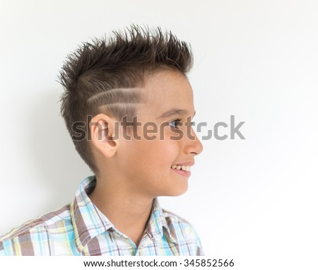 Boy portrait - stock photo
