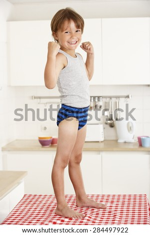 Boy Underwear Stock Images, Royalty-Free Images & Vectors ...