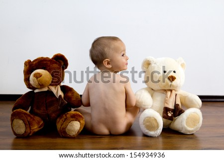 Boy with bears