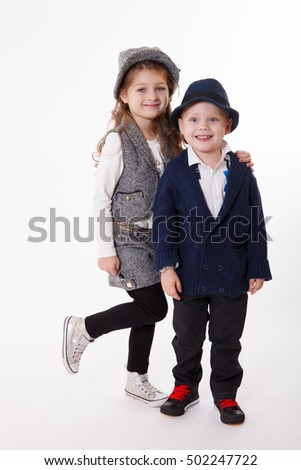 Boy with girl