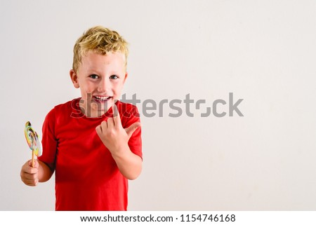 stock-photo-boy-with-red-shirt-on-white-