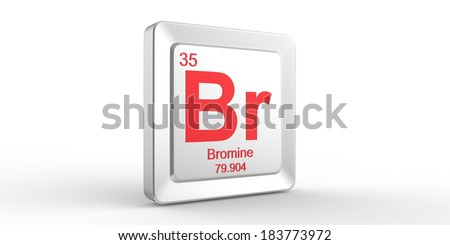Br symbol 35 material bromine chemical stock illustration br symbol 35 material for bromine chemical element of the periodic table urtaz Gallery