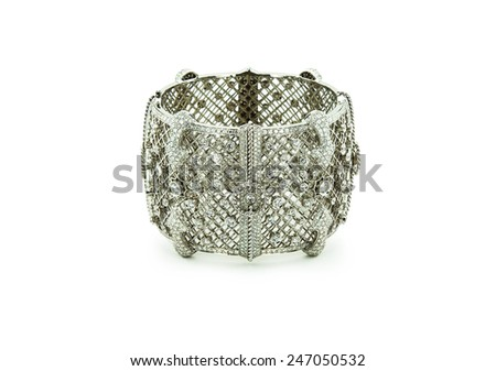 Bracelet isolated on a white background