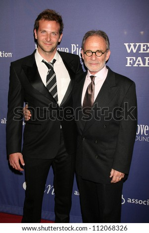"Bradley Cooper and Ron Rifkin at the 15th Annual Alzheimer's Benefit ""A Night At Sardi's"". Beverly Hilton Hotel, Beverly Hills, CA. 03-07-07"