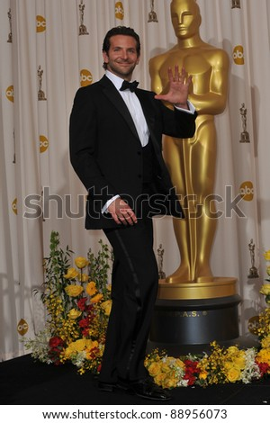 Bradley Cooper at the 82nd Academy Awards at the Kodak Theatre, Hollywood. March 7, 2010  Los Angeles, CA Picture: Paul Smith / Featureflash