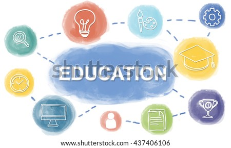 Brainstorm Knowledge Creative Imagine Think Concept - stock photo