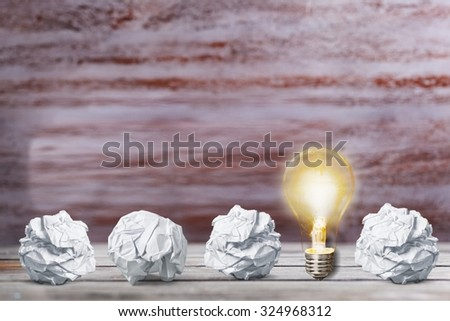 Brainstorming. - stock photo