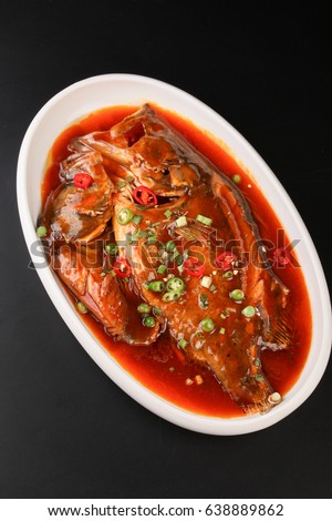 Braised fish