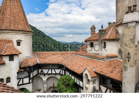 Bran Castle (Dracula's castle), Brasov, Romania - stock photo