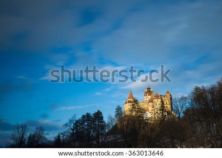 Bran Castle, Romania - stock photo