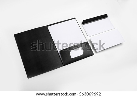 Brand identity design set mockup folder stock photo 563069692 brand identity design set mockup folder business cards envelope colourmoves