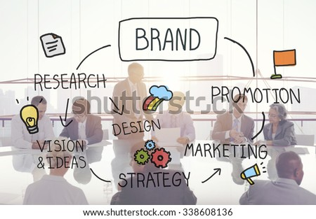 Brand Marketing Advertising Branding Design Trademark Concept