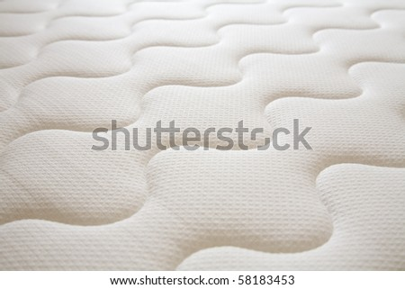 brand new clean spring mattress surface - Spring Mattress