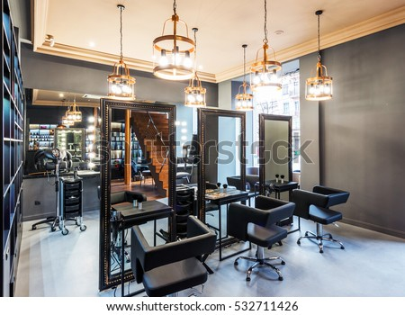 Salon stock images royalty free images vectors for A new you beauty salon