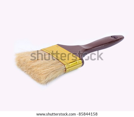Isolated painting brush stock photo 63596869 shutterstock for Best paint brush brands