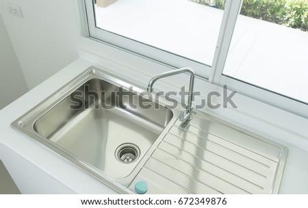 Brand New Sink In Kitchen