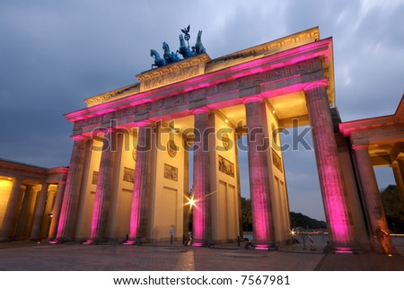 Brandenberg Gate Berlin - stock photo