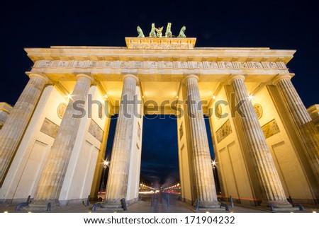 Brandenburg Gate, Berlin - stock photo