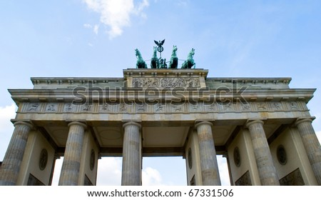 Brandenburger tor - stock photo