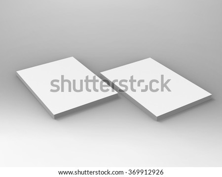 Branding Stationary 3D Render Stationary  is a professional 3D render that can be used for various marketing campaigns, as well as brand marketing. - stock photo
