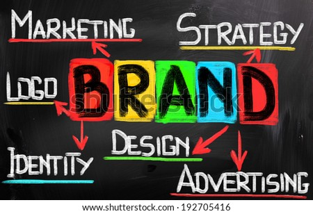 Branding Word Concept - stock photo