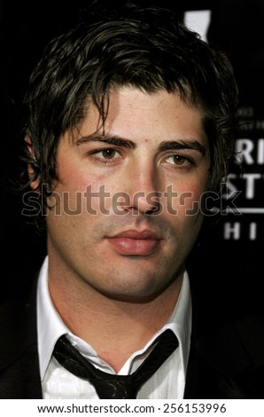 Brandon Davis attends the Rodeo Drive Walk Of Style Award honoring Gianni and Donatella Versace held at the Beverly Hills City Hall in Beverly Hills, California on February 8, 2007. - stock photo