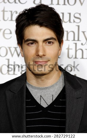 Brandon Routh at the Los Angeles premiere of 'Zack And Miri Make A Porno' held at the Grauman's Chinese Theater in Hollywood, California, USA on October 20, 2008.  - stock photo