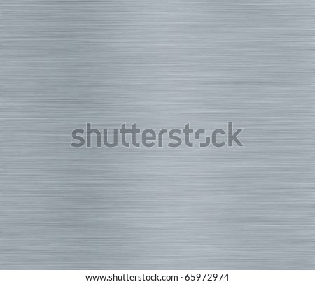 Brashed Steel Background with Space for Text - stock photo