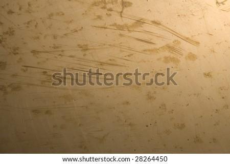 Brass metal background. - stock photo