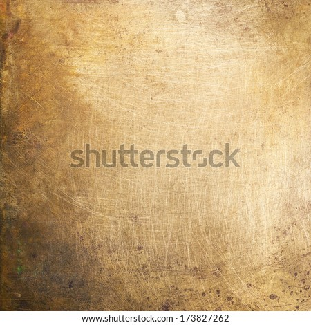 Brushed Brass Texture Brass Plate Texture Old Metal
