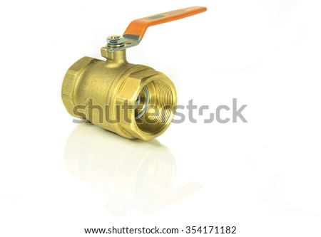 Brass valve for use in the plumbing system