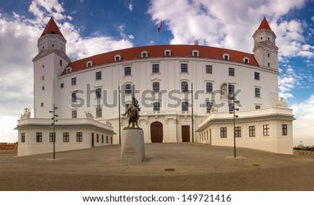 Bratislava Castle. Slovakia - stock photo