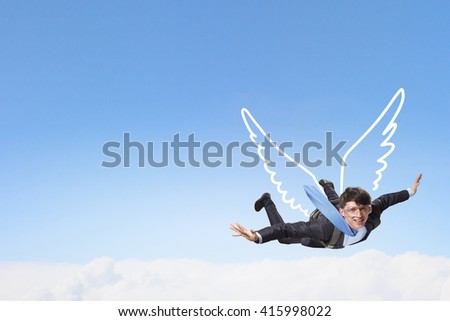 Brave enough to risk - stock photo