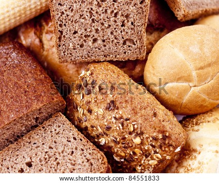 Bread and Bakeries - stock photo