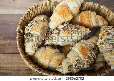 Bread and pastry - stock photo