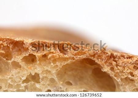 bread as background. macro - stock photo