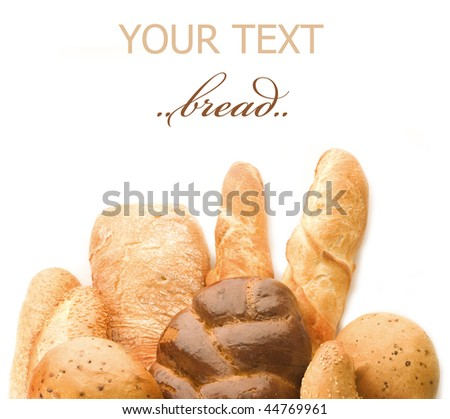 Bread Border - stock photo