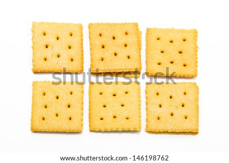 Bread, cheese and pineapple filling shakes - stock photo