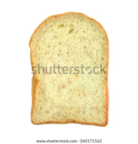bread on white
