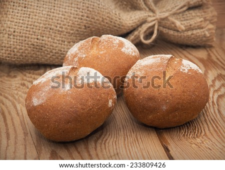 Bread Rolls - stock photo
