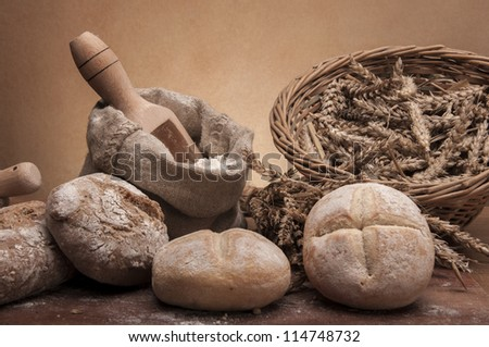 Bread, rolls and cereals
