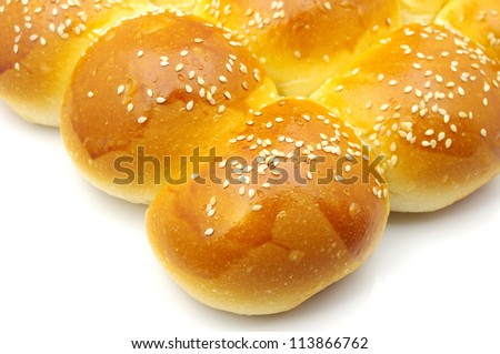 Bread sesame - stock photo