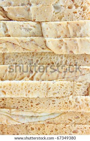 bread texture - stock photo