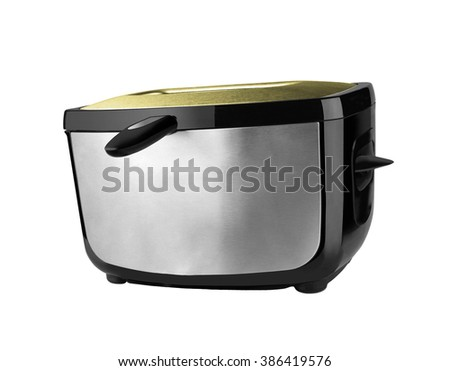 bread toaster isolated - stock photo