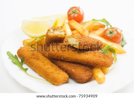 Fish stick stock images royalty free images vectors for Fish stick sandwich