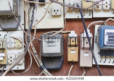 Breakers Switch Vector Flat Fuse Vector Stock Photo (Royalty Free ...