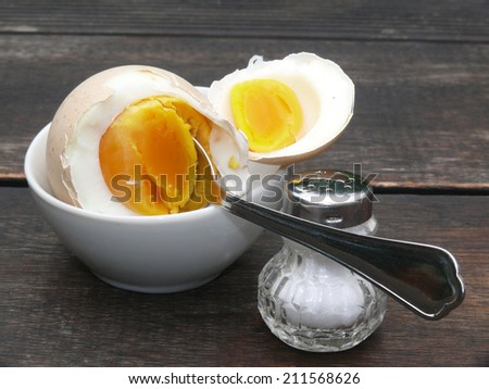breakfast egg - stock photo