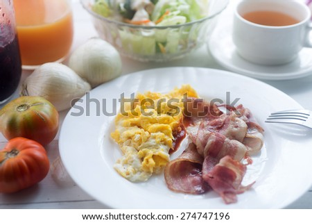 Scrambled Eggs Sour Cream Stock Photos, Images, & Pictures ...