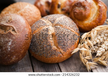 Breakfast ingredients - stock photo