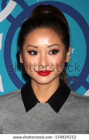 Brenda Song at the 2013 FOX Fall Eco-Casino Party, The Bungalow, Santa Monica, CA 09-09-13 - stock photo